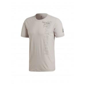 Adidas FreeLift Slogan T-Shirt