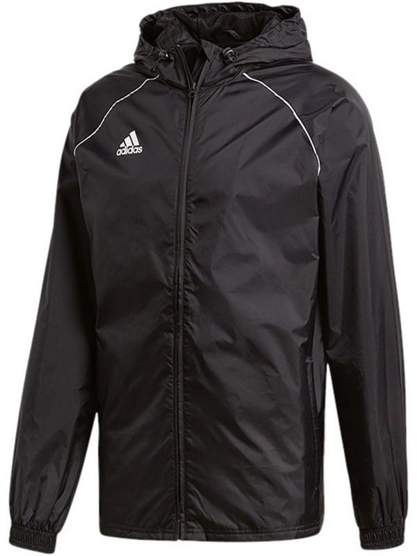 ADIDAS Fußball - Teamsport Textil - Allwetterjacken Core 18 Rain Jacket Jacke Dunkel