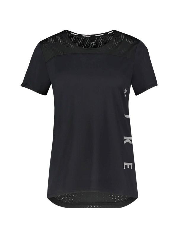 "NIKE Damen Laufshirt ""Miler Run Divison"" Kurzarm"