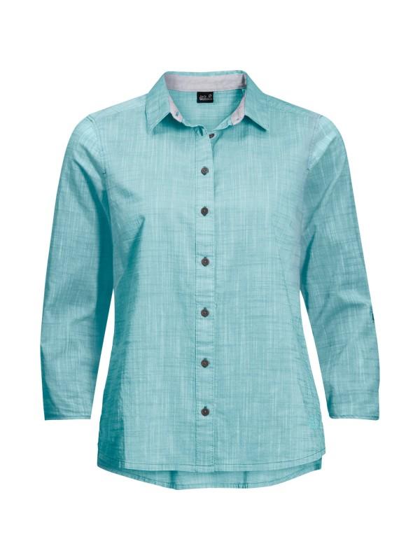 """JACKWOLFSKIN Damen Outdoor-Bluse """"Emerald Lake Shirt Women"""" 3/4-Arm"""