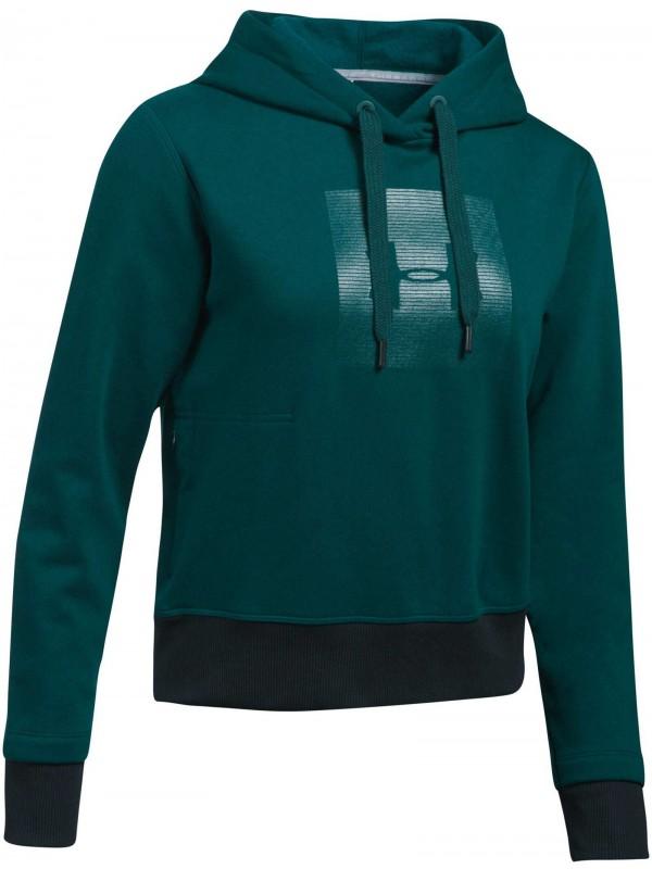 UNDER ARMOUR Damen Sweatshirt mit Kapuze Threadborne Fleece BL Hoodie