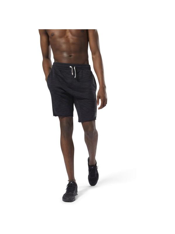 REEBOK Herren Elements Marble Melange Shorts
