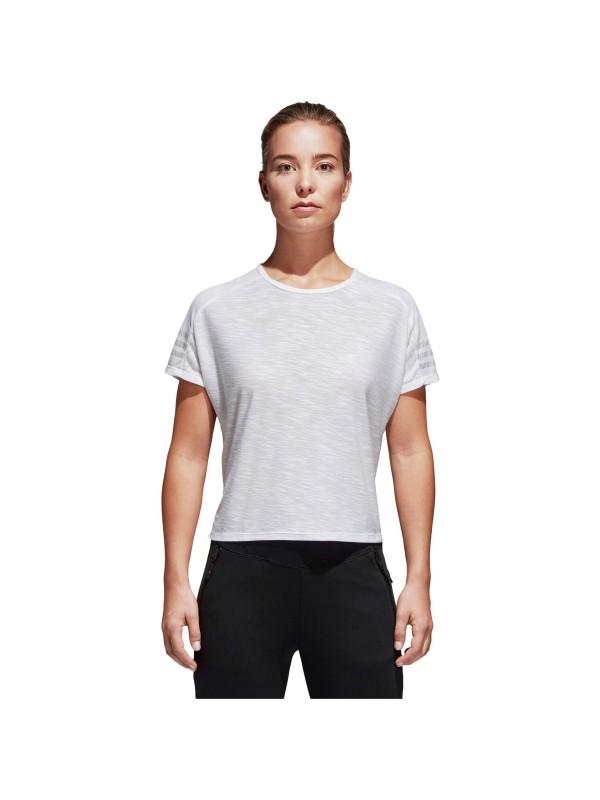ADIDAS Damen Trainingsshirt ID 3-Streifen