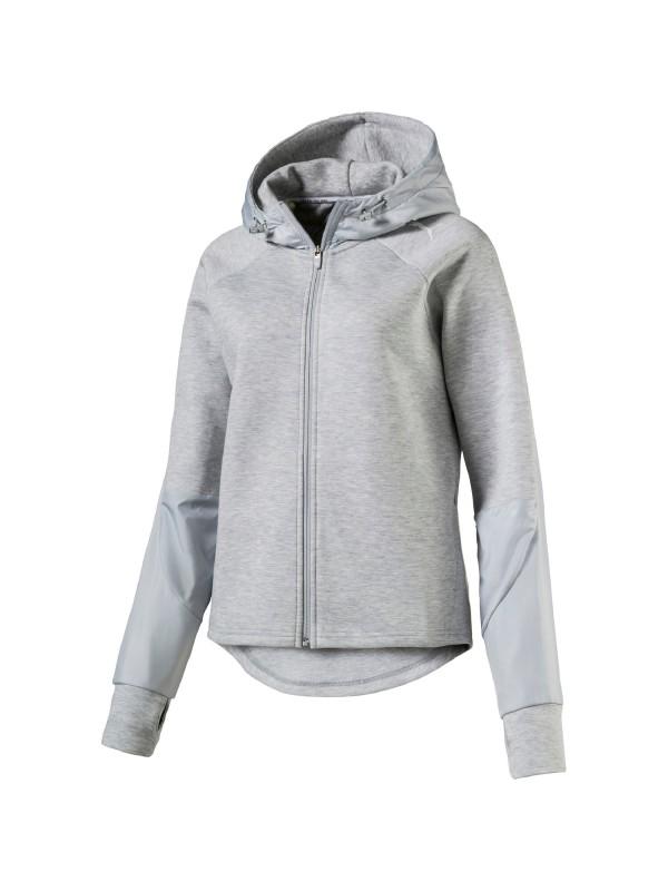 Puma Damen Kapuzensweatshirt EVOSTRIPE FZ Jacket