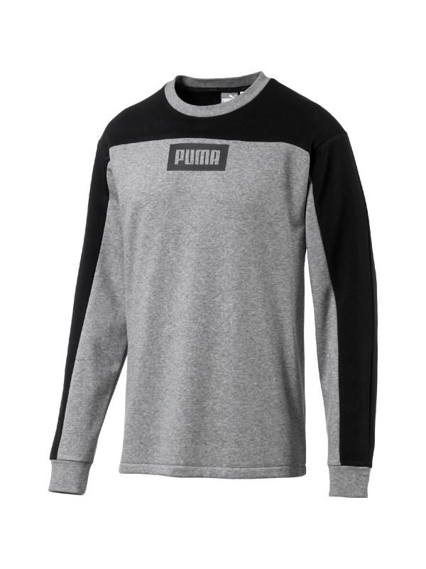 Puma Herren Sweatshirt Rebel Block Crew TR