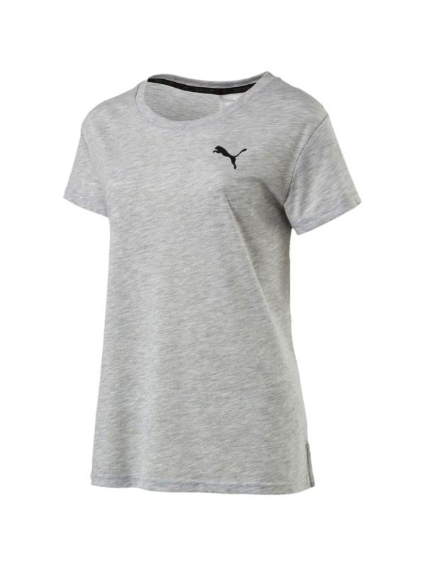 PUMA Damen Funktionsshirt Urban Sports Logo Tee Kurzarm