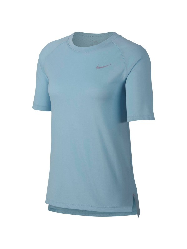 NIKE Running - Textil - T-Shirts Tailwind Top T-Shirt Running Damen Beige