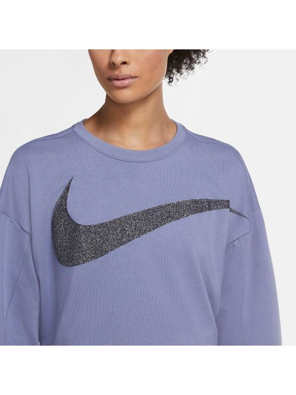 """NIKE Damen Sweatshirt """"Nike Dri-FIT Get Fit  Womens Fleece Sparkle Training Top"""""""