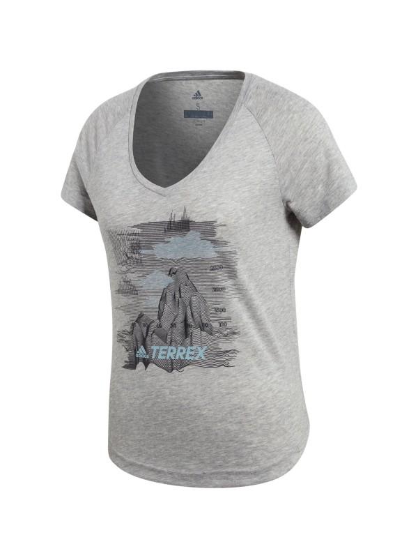 ADIDAS Damen Shirt W MOUNTAIN TEE