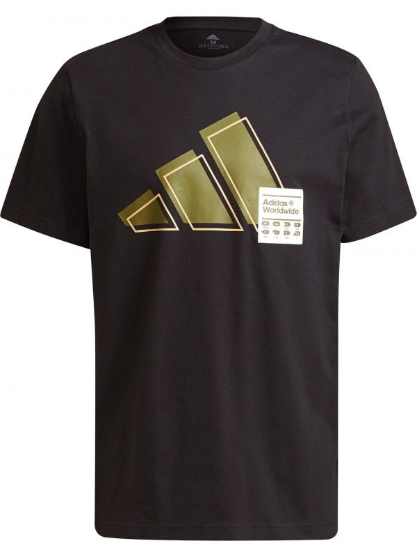 adidas Herren Short Sleeve Graphic T-Shirt