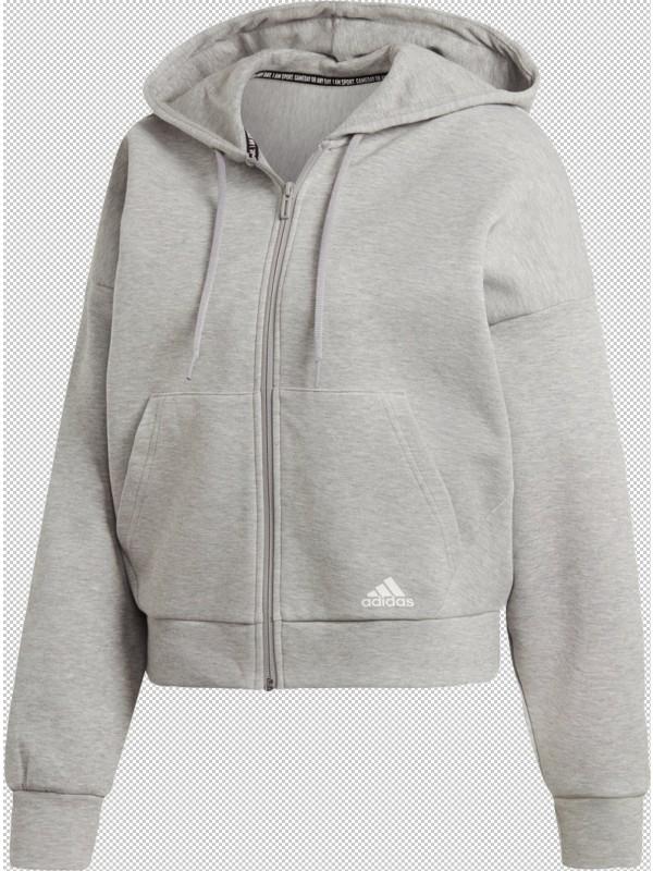 adidas Damen Kapuzenjacke Must Haves 3-Streifen
