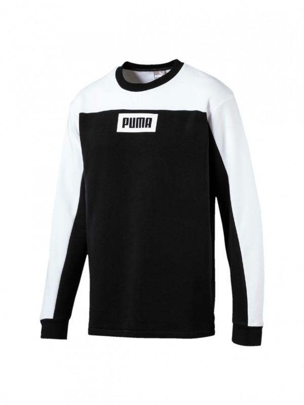 Puma Rebel Block Crew TR